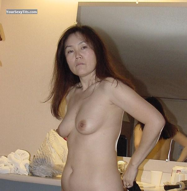 Tit Flash: Medium Tits - Yong from United States